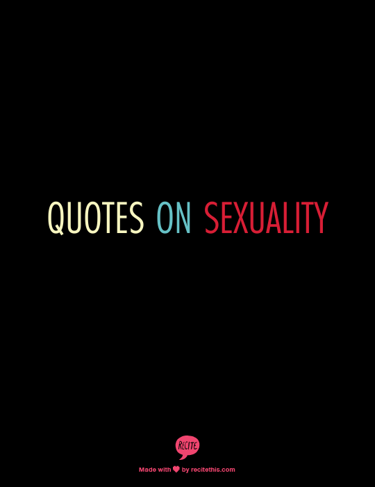 Food and sexuality quotes